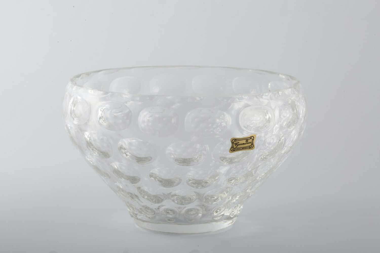 Конфетница 20 см Egermann кристалл