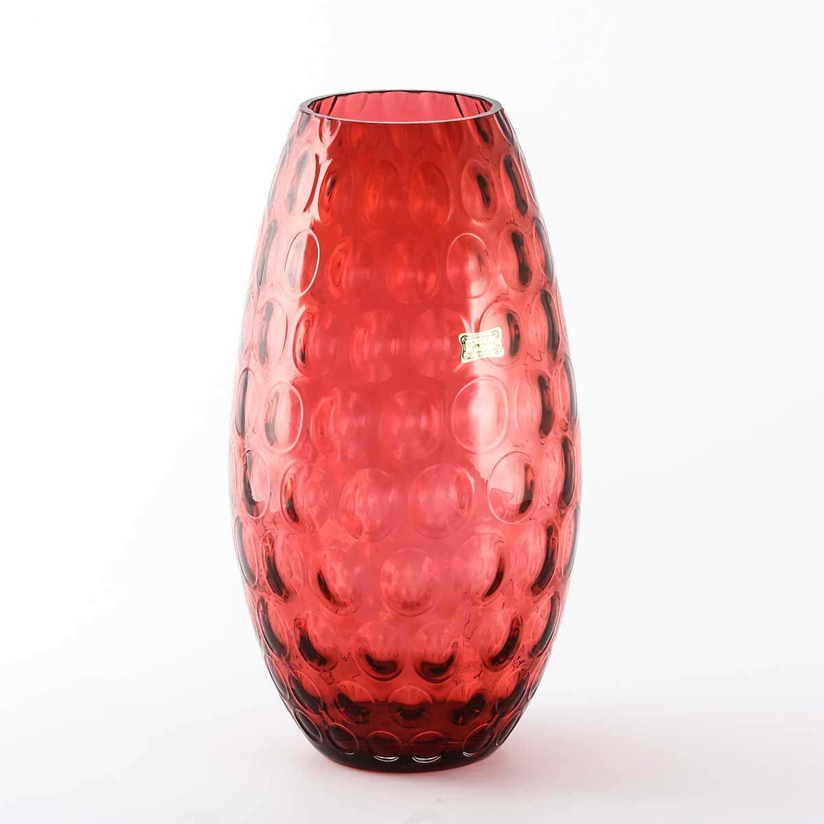 Ваза для цветов 30 см Egermann рубин