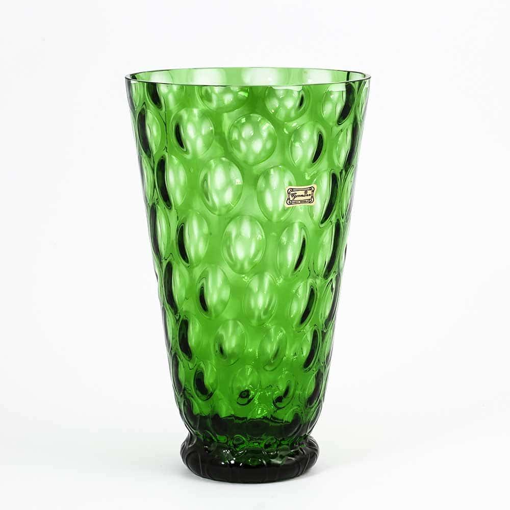 Ваза для цветов 25 см Egermann зеленая 36038