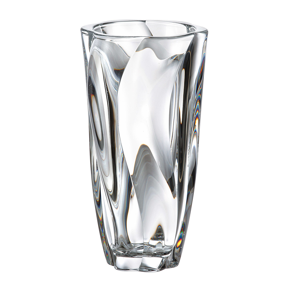 Ваза для цветов 25,5см Giftware Barley Twist Crystalite