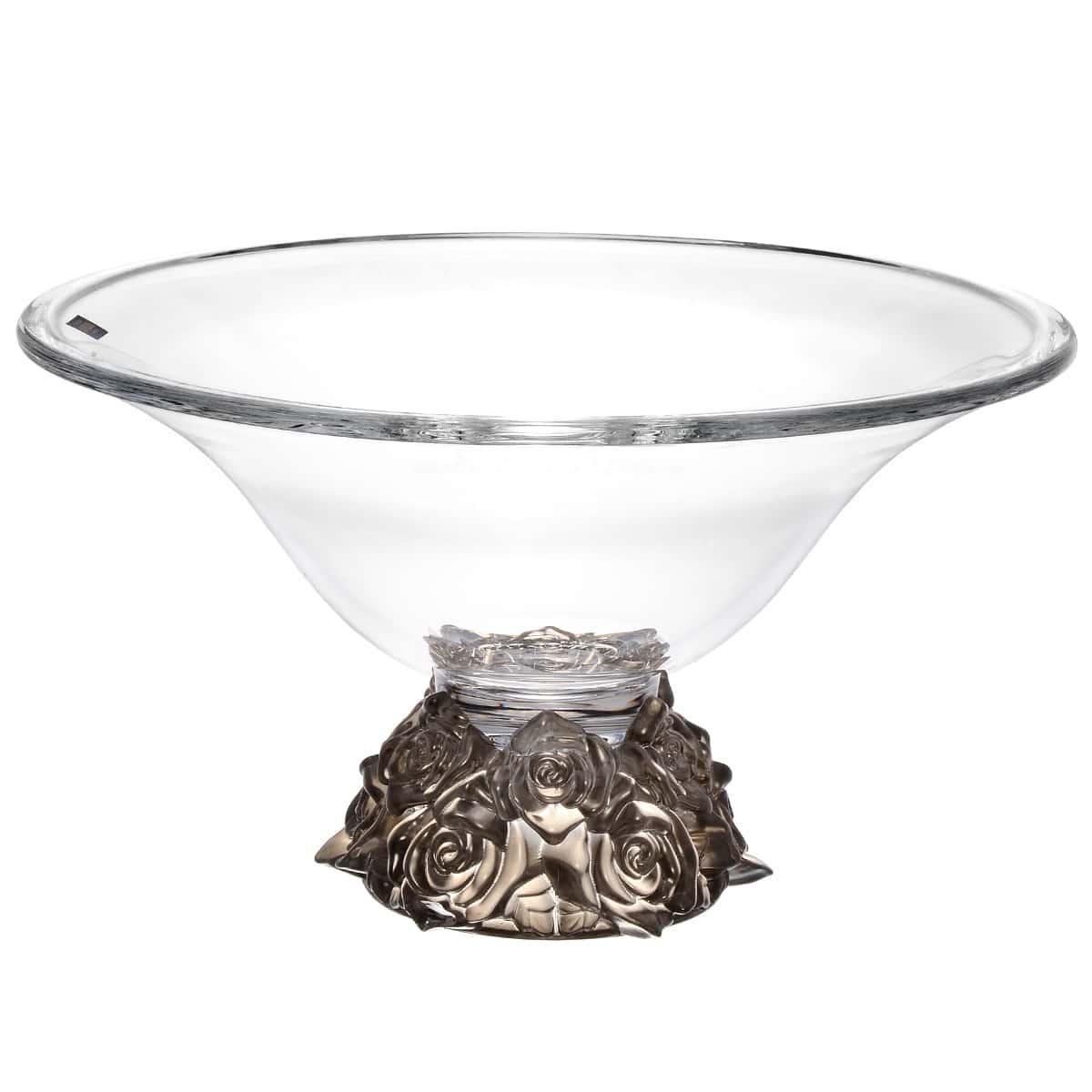 Фруктовница 35 см Фрост Розы Кристалайт Богемия
