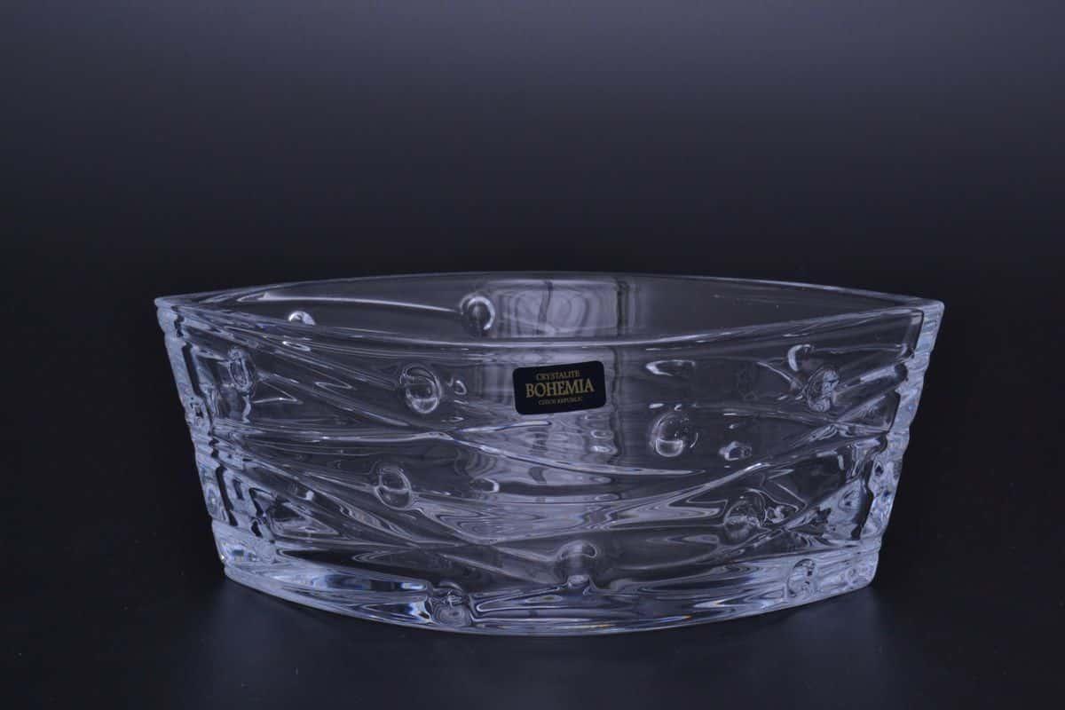 Салатник 20 см LABYRINTH Кристалайт Богемия