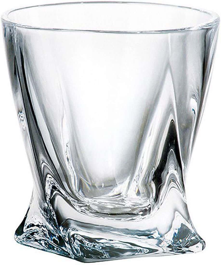 Набор стопок для водки Quadro Кристалайт Богемия 55 мл
