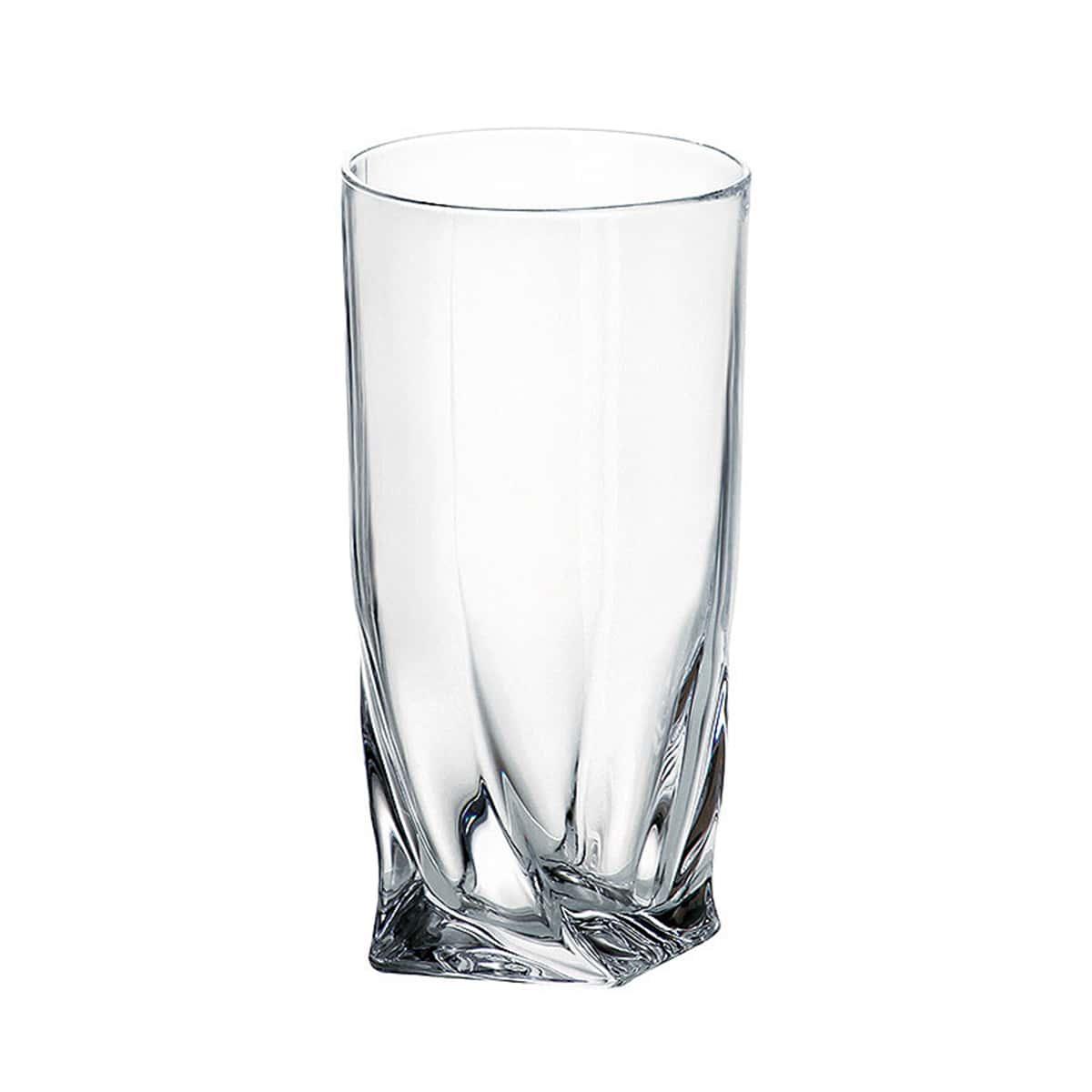 Стакан для воды Quadro Crystalite Bohemia 350мл(1 шт)