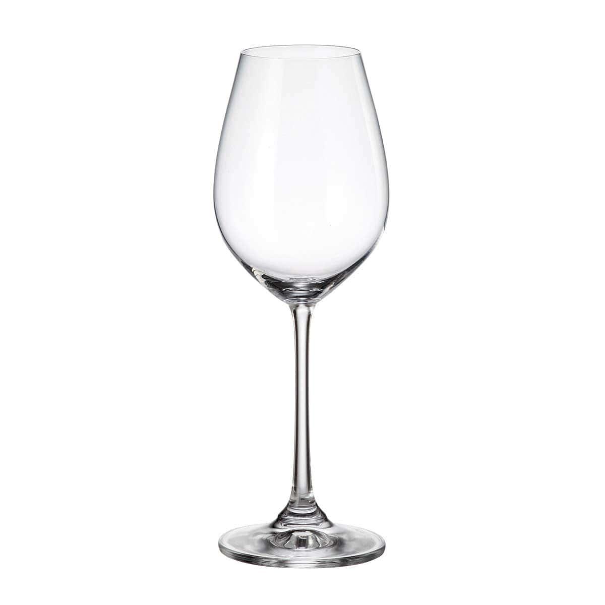 Набор бокалов для вина Columba Crystalite Bohemia 400 мл(6 шт)