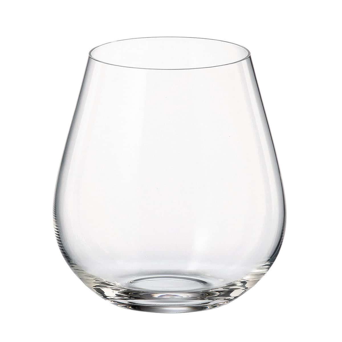 Набор стаканов для воды Columba Crystalite Bohemia 380 мл(6 шт)
