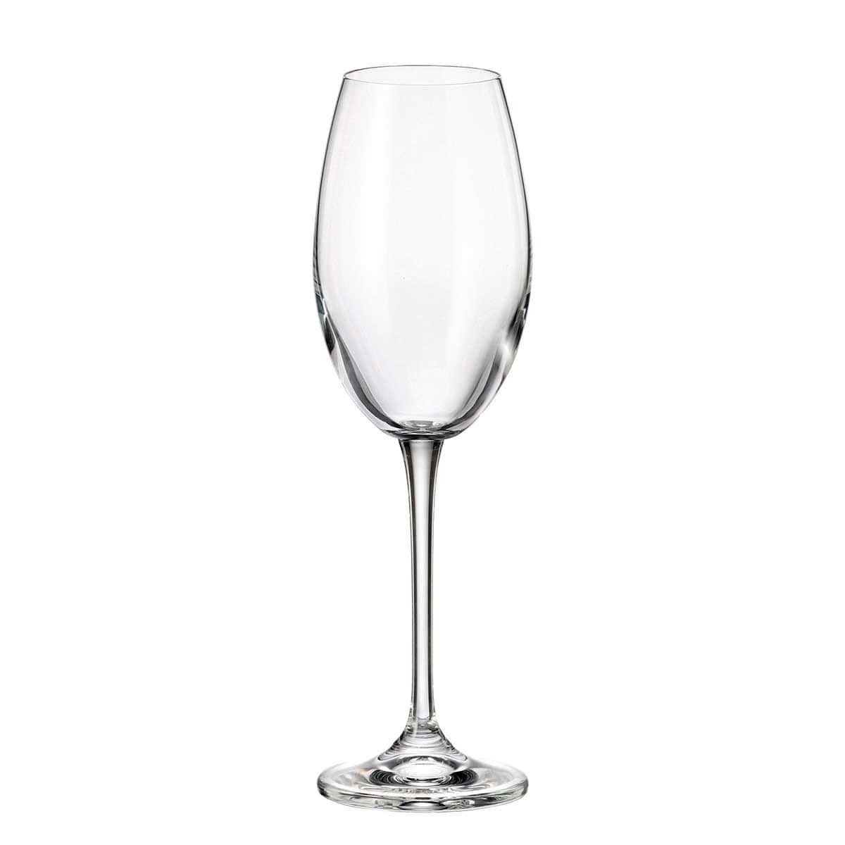 Набор бокалов для вина Fulica Crystalite Bohemia 300 мл(6 шт)
