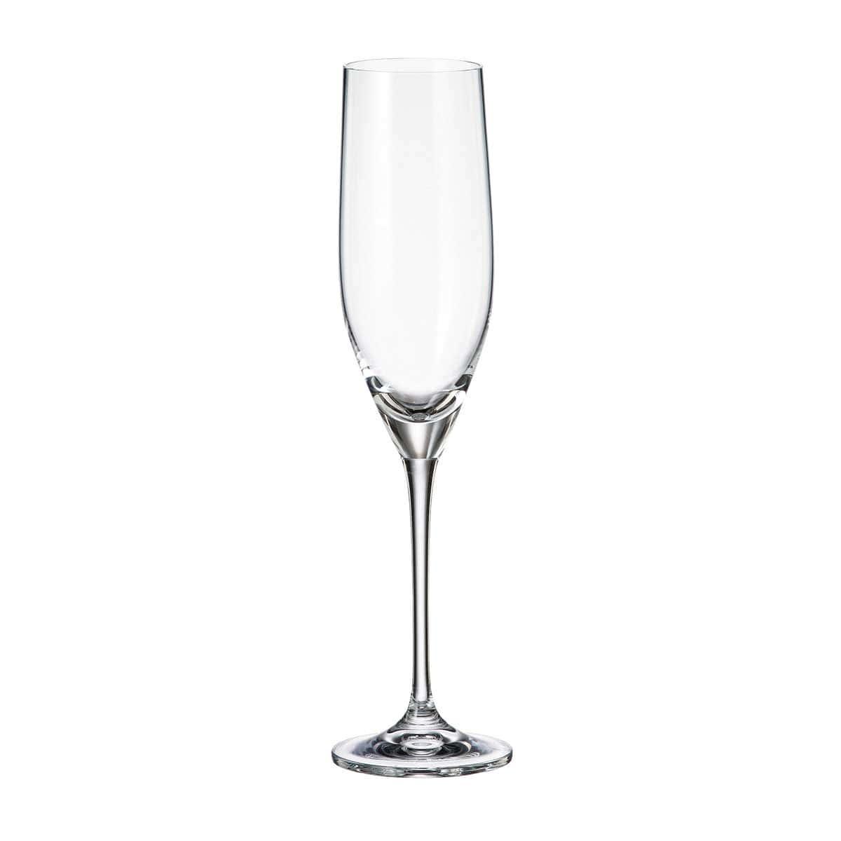 Набор бокалов для вина Sitta/stella Crystalite Bohemia 240мл