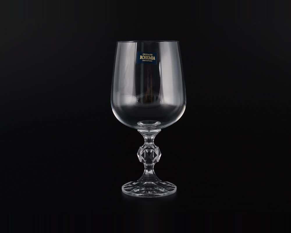 Набор бокалов для вина STERNA/KLAUDIE Crystalite 340 мл (6 шт)