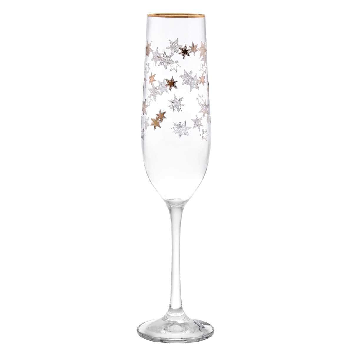 Набор фужеров для шампанского Crystalex (2шт)