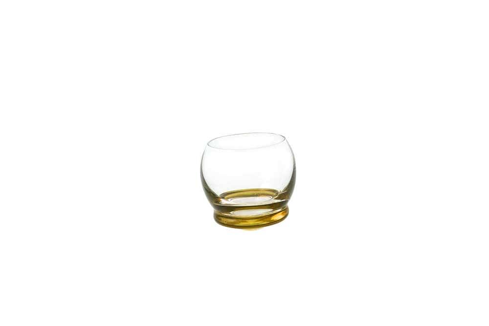Стопка для водки Crazy 60 мл желтая (1 шт)