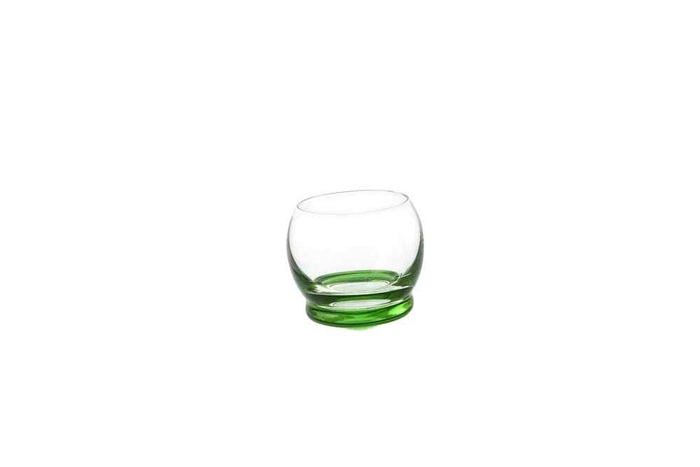 Стопка для водки Crazy 60 мл зеленая (1 шт)