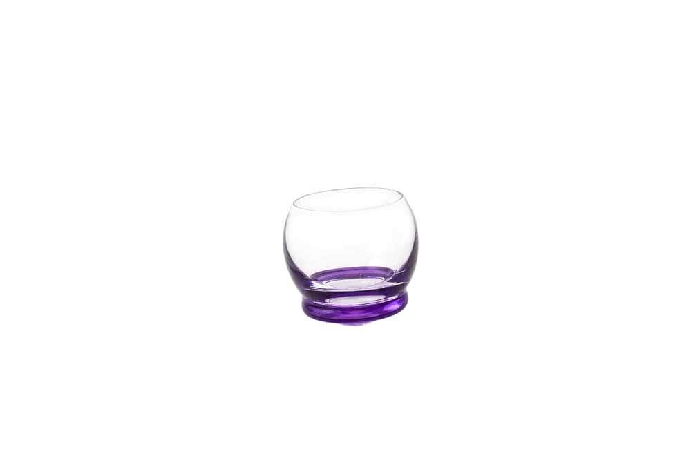 Стопка для водки Crazy 60 мл фиолетовая (1 шт)