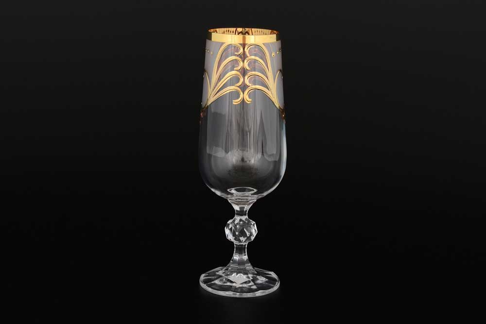 Фужер для шампанского Клаудиа Crystalex Bohemia 180 мл