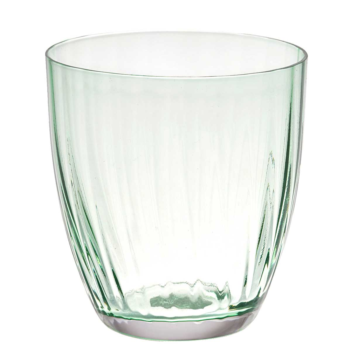 Набор стаканов для виски Арлекино Crystalex Bohemia 300 мл(6 шт) зеленые