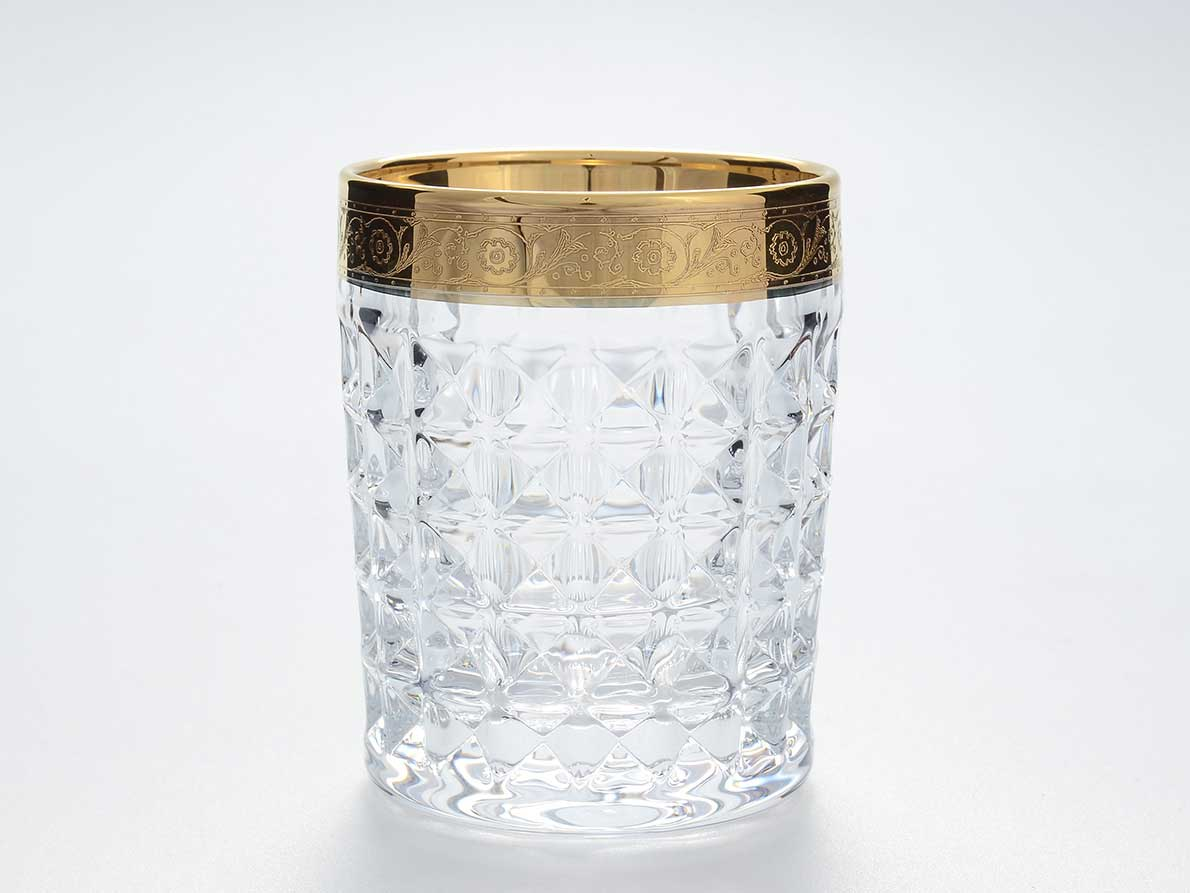 Набор стаканов для виски Diamond Bohemia 230 мл(6 шт)