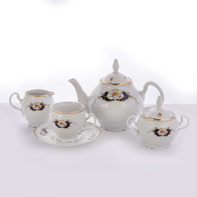 Сервиз чайный Синий глаз 36612 на 6 перс.15 пред.
