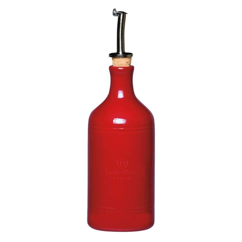 Бутылка для масла и уксуса (цвет: гранат) Emile Henry