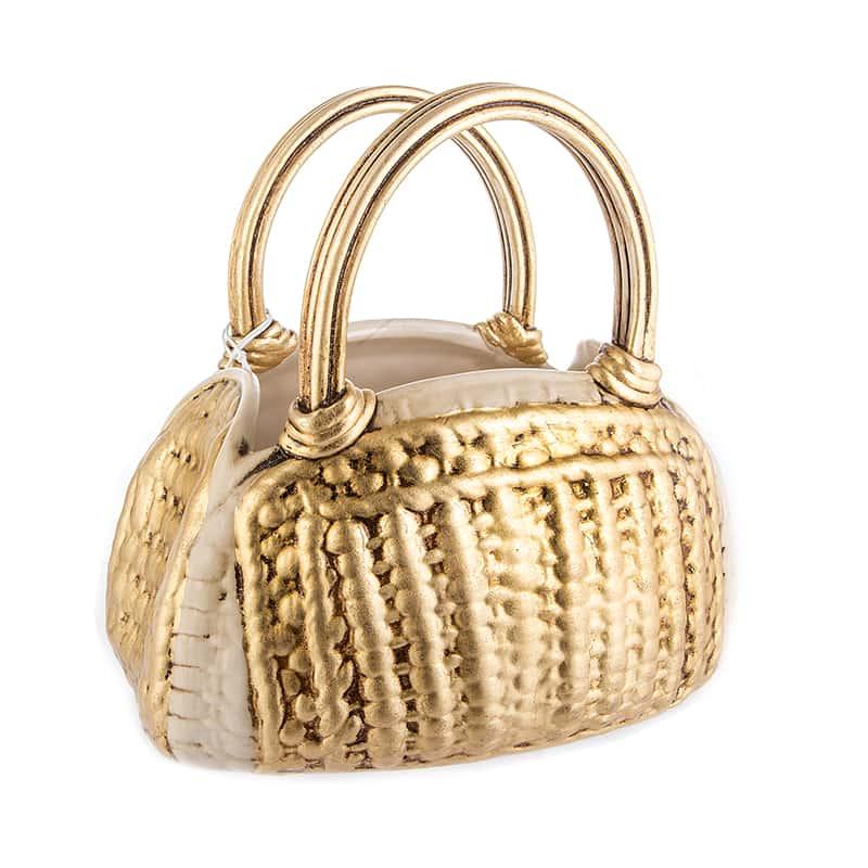Декоративная сумка 25см. ваза Orgia