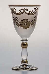 Цветы-Декор-2 Набор бокалов для вина 190 мл Bohemia
