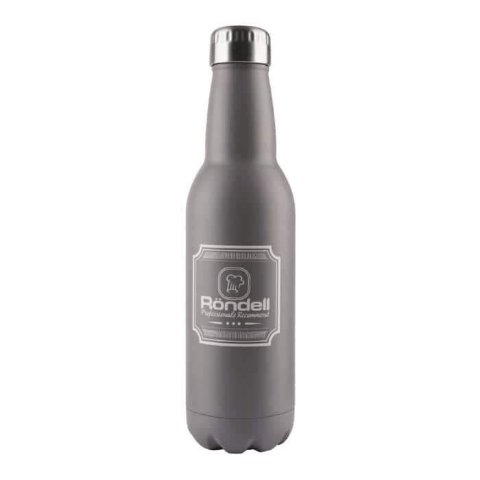 Термос 0,750 мл. Bottle Grey Rondell