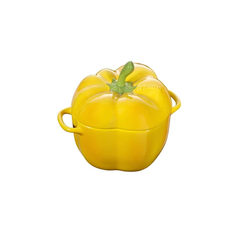 Кокот Перец,12 см, желтый 0,5 л Staub