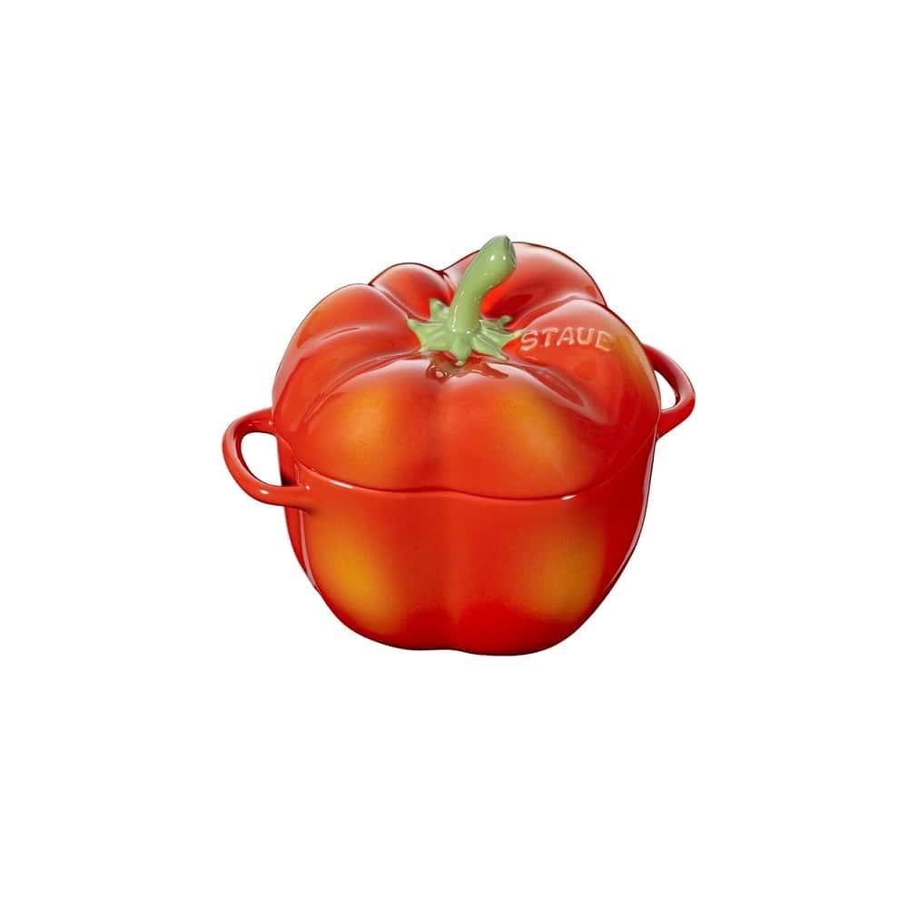 Кокот Перец, 12 см, оранжевый 0,5 л Staub