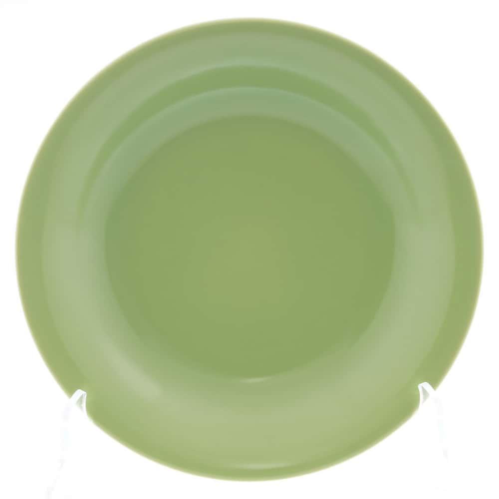 Тарелка глубокая Benedikt 22см зеленая