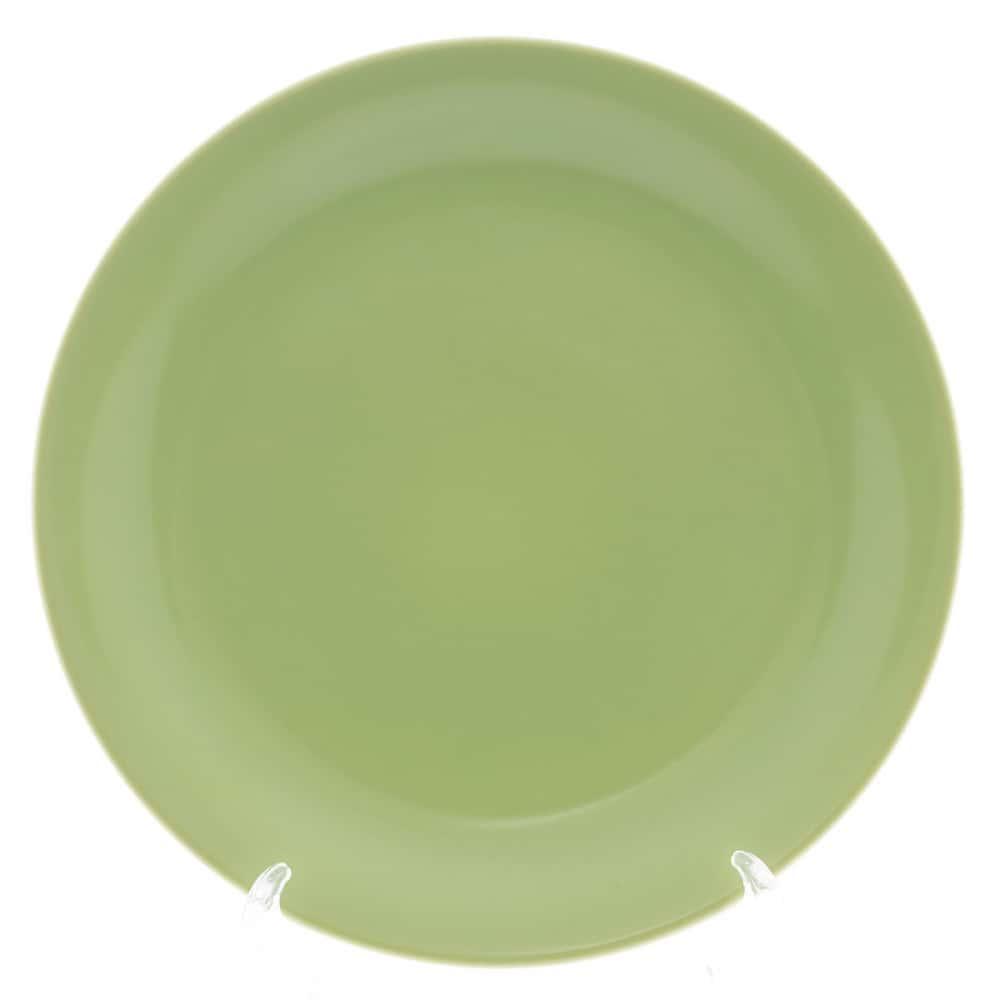 Тарелка Benedikt 25см зеленый