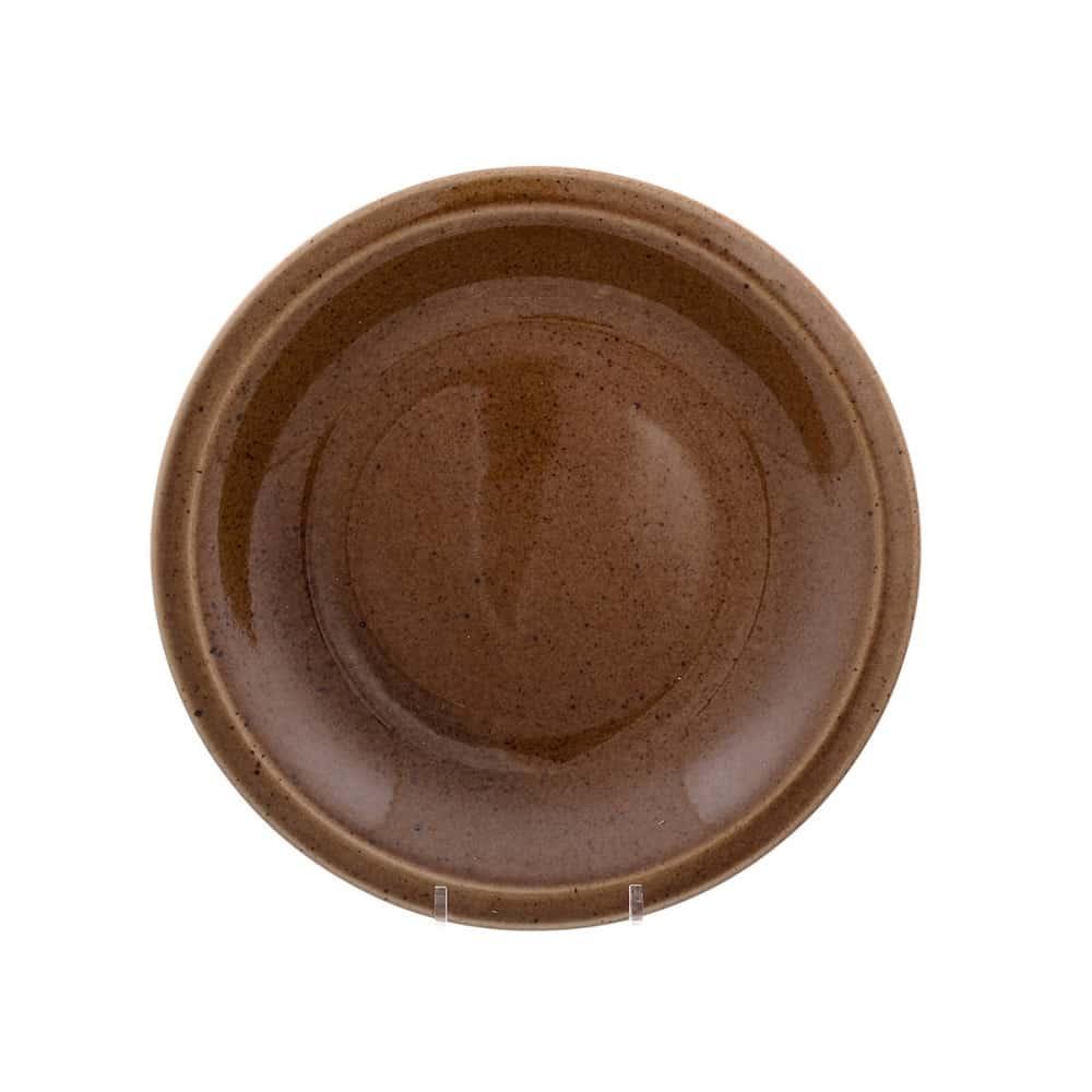 Тарелка Benedikt Choco creme 21см корич.