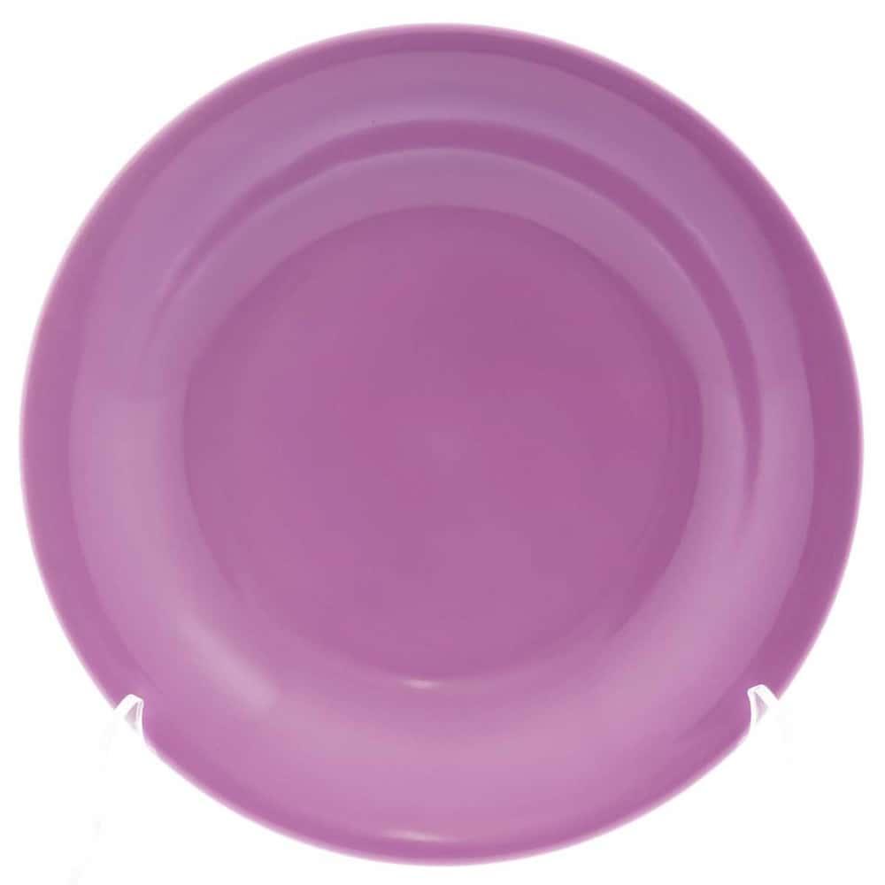 Тарелка глубокая Benedikt 22см сиреневая