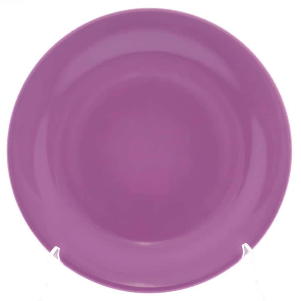 Тарелка Benedikt 25см сиреневая