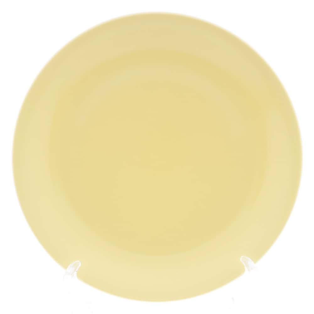 Тарелка Benedikt 17см желтая
