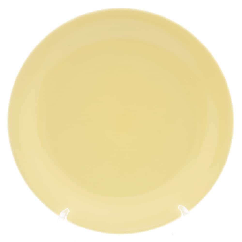 Тарелка Benedikt 19см желтая