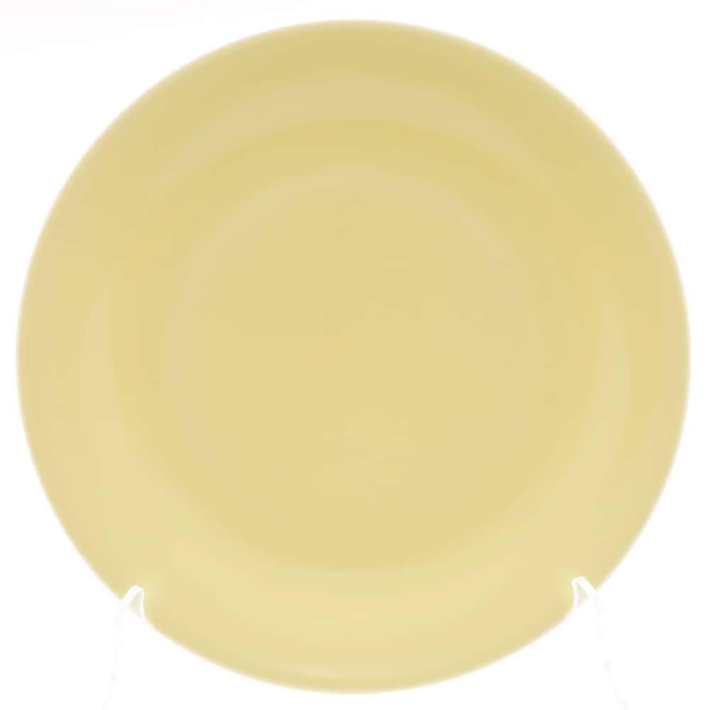 Тарелка Benedikt 25см желтый