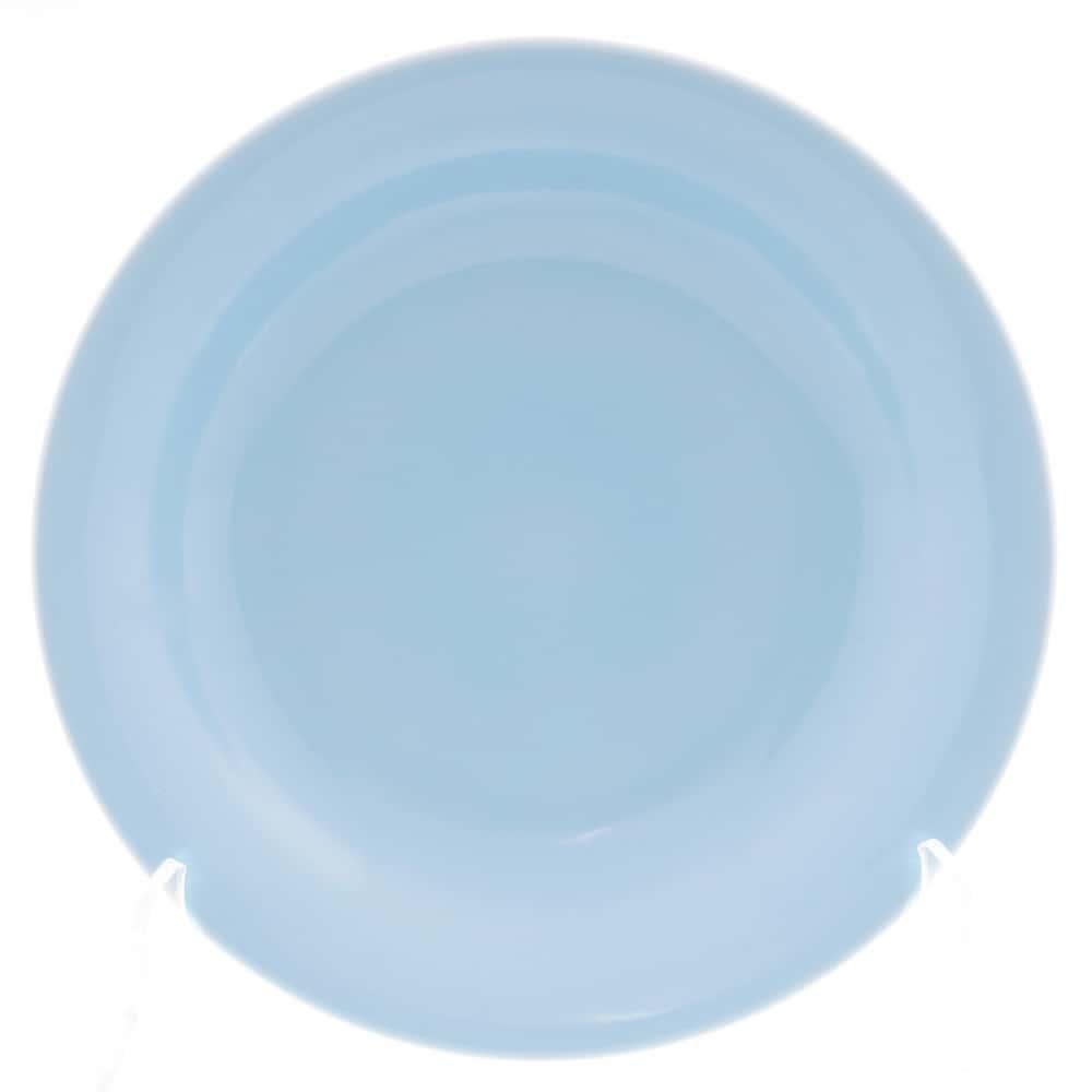 Тарелка глубокая Benedikt 22см голубая