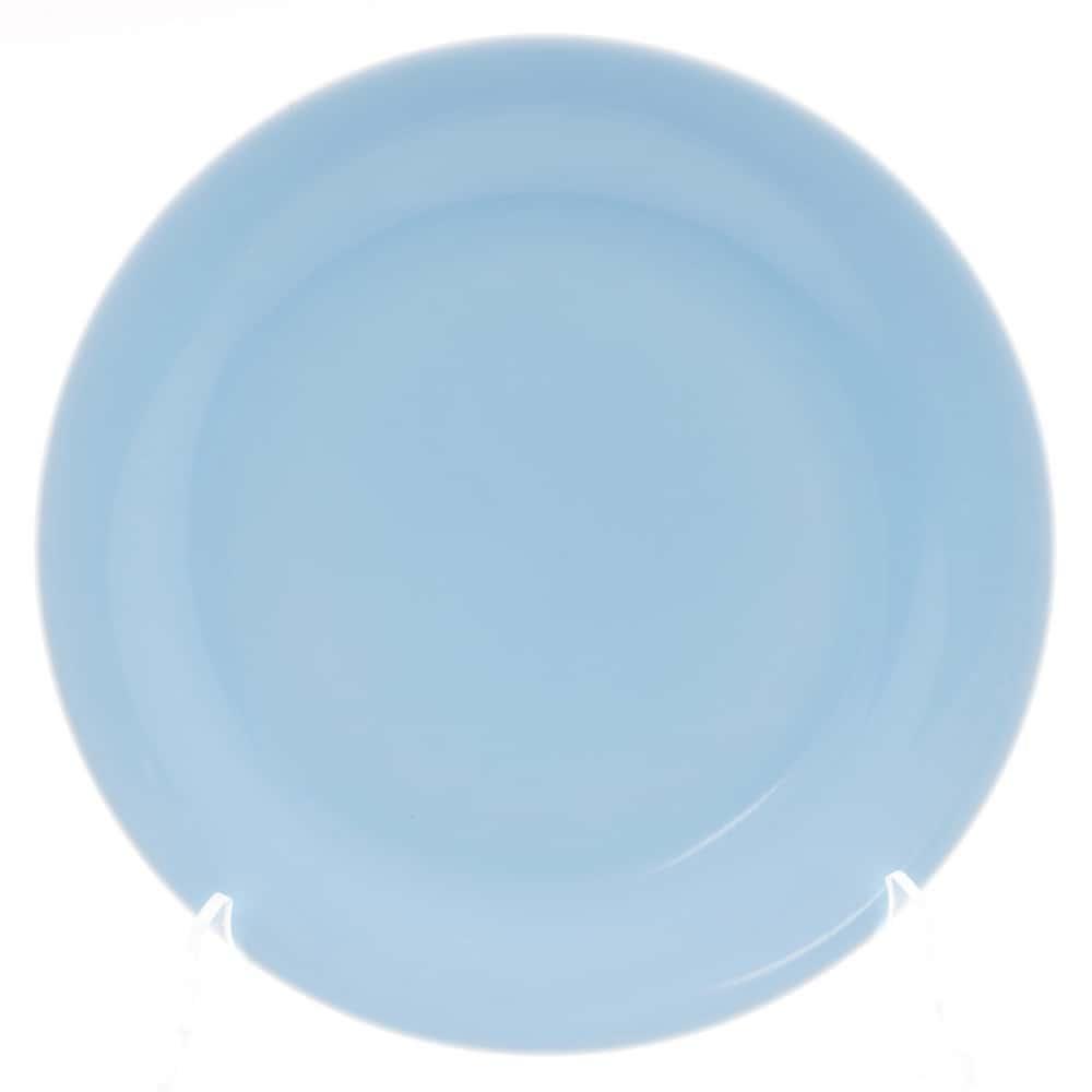 Тарелка Benedikt 25см голубая