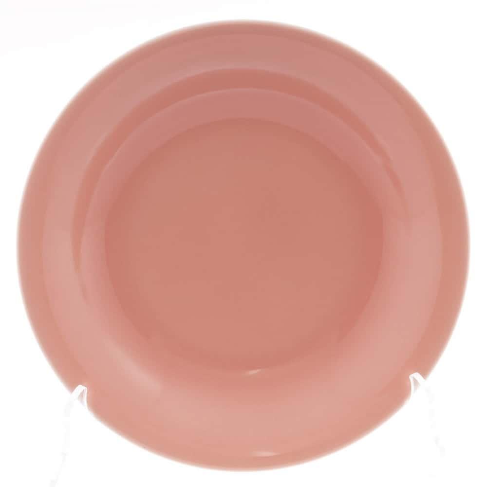 Тарелка глубокая Benedikt 22см красная