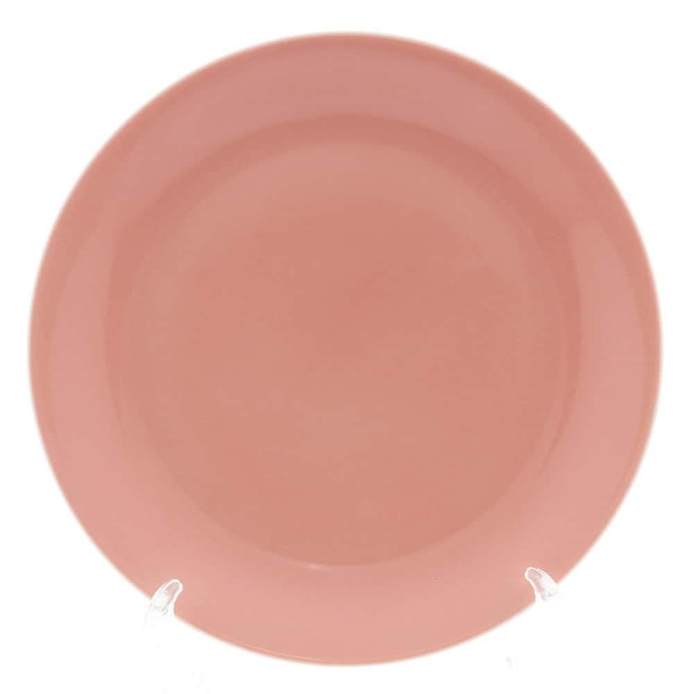 Тарелка Benedikt 25см красная