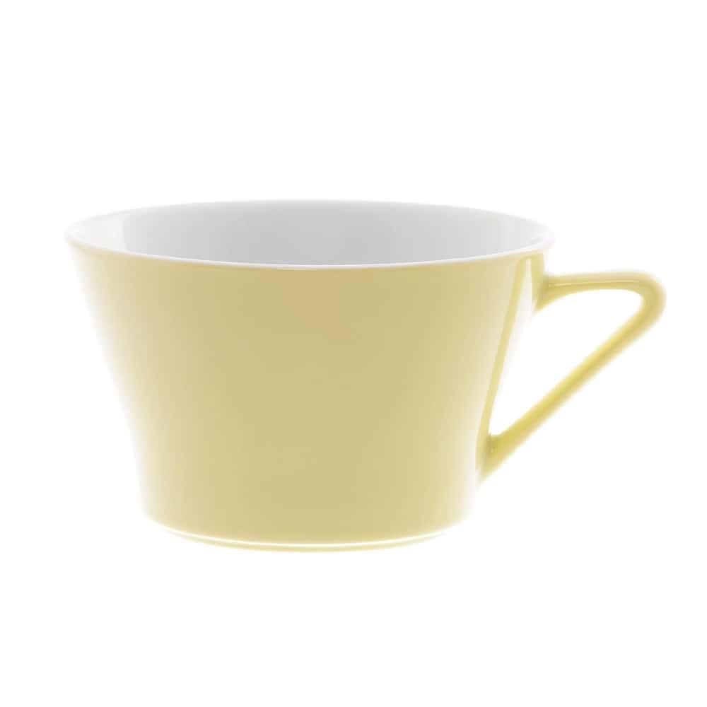 Чашка чайная Benedikt 200мл желтая