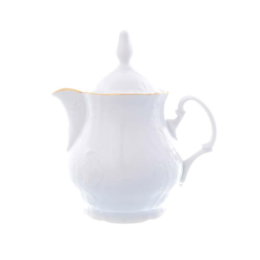 Кофейник Bernadotte Белый узор 350мл
