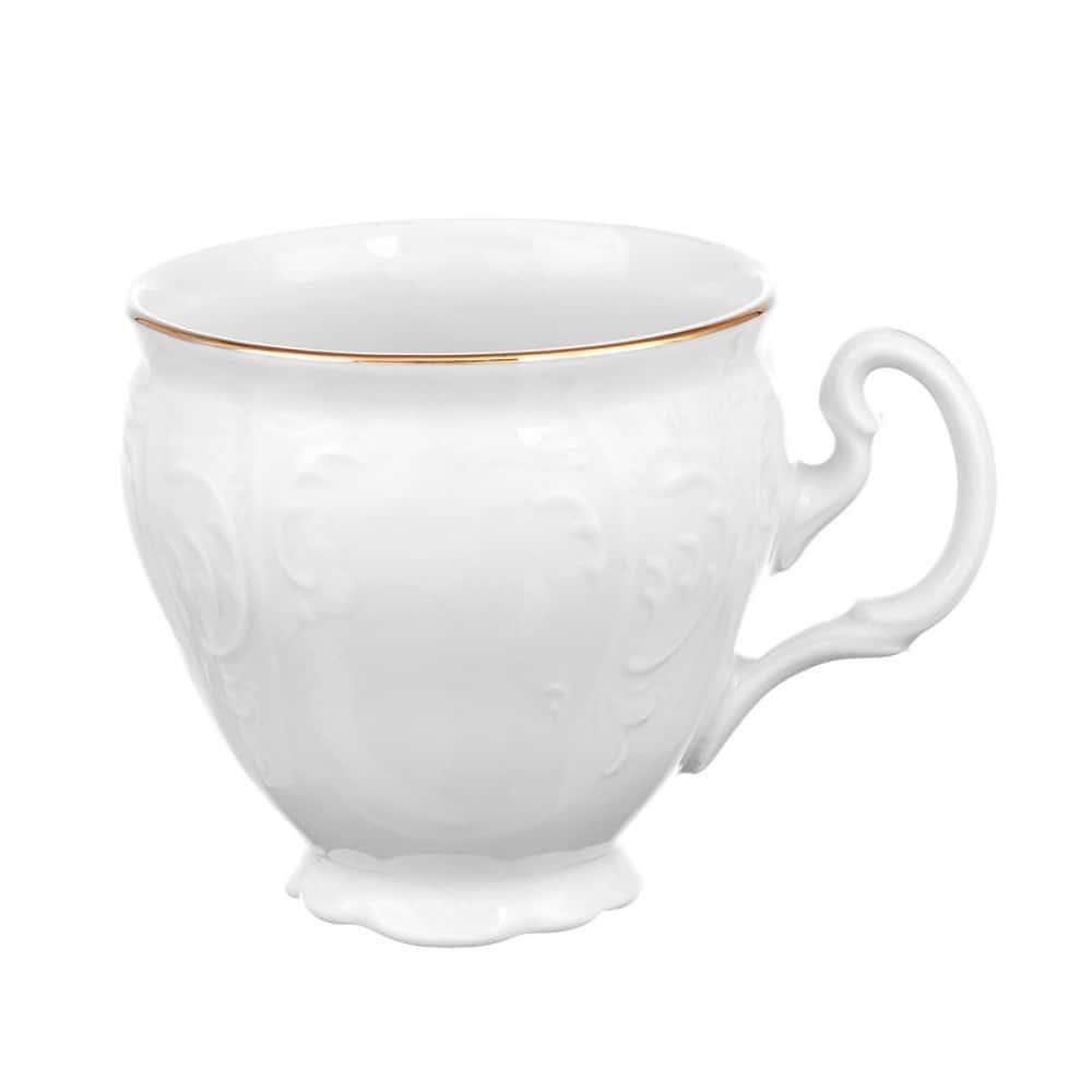 Набор кофейных чашек Bernadotte Белый узор(без блюд) 170 мл (6 шт)