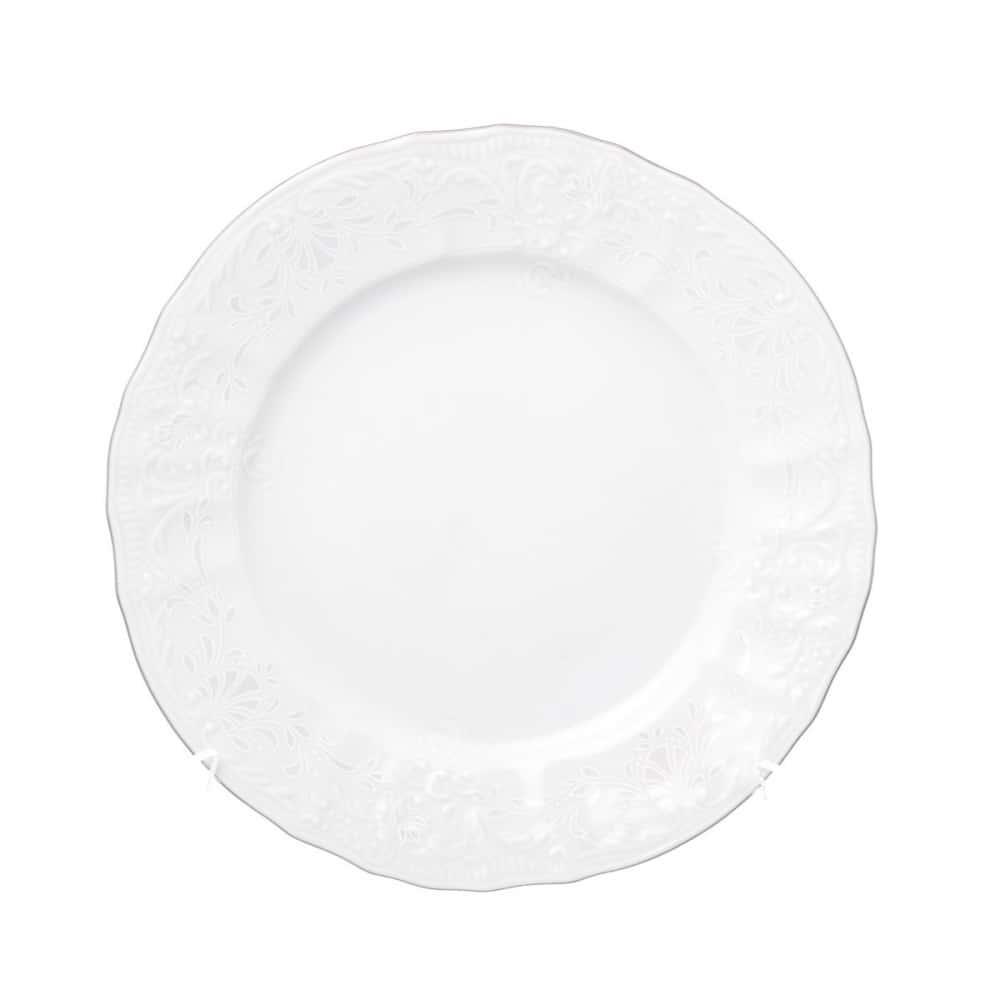 Тарелка Bernadotte Платиновый узор 17 см