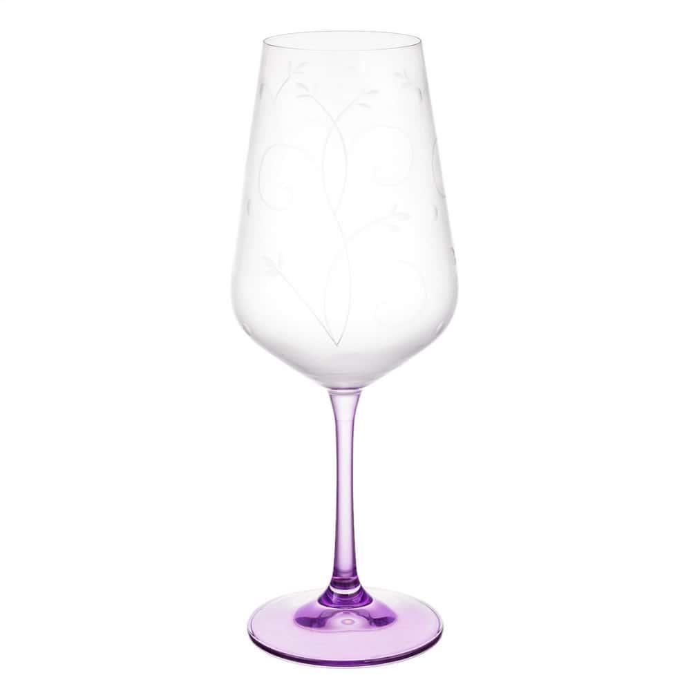 Набор бокалов для вина Bohemia Цветные ножки 450мл (6 шт)