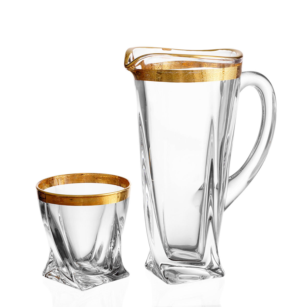Набор для воды Quadro Bohemia Gold