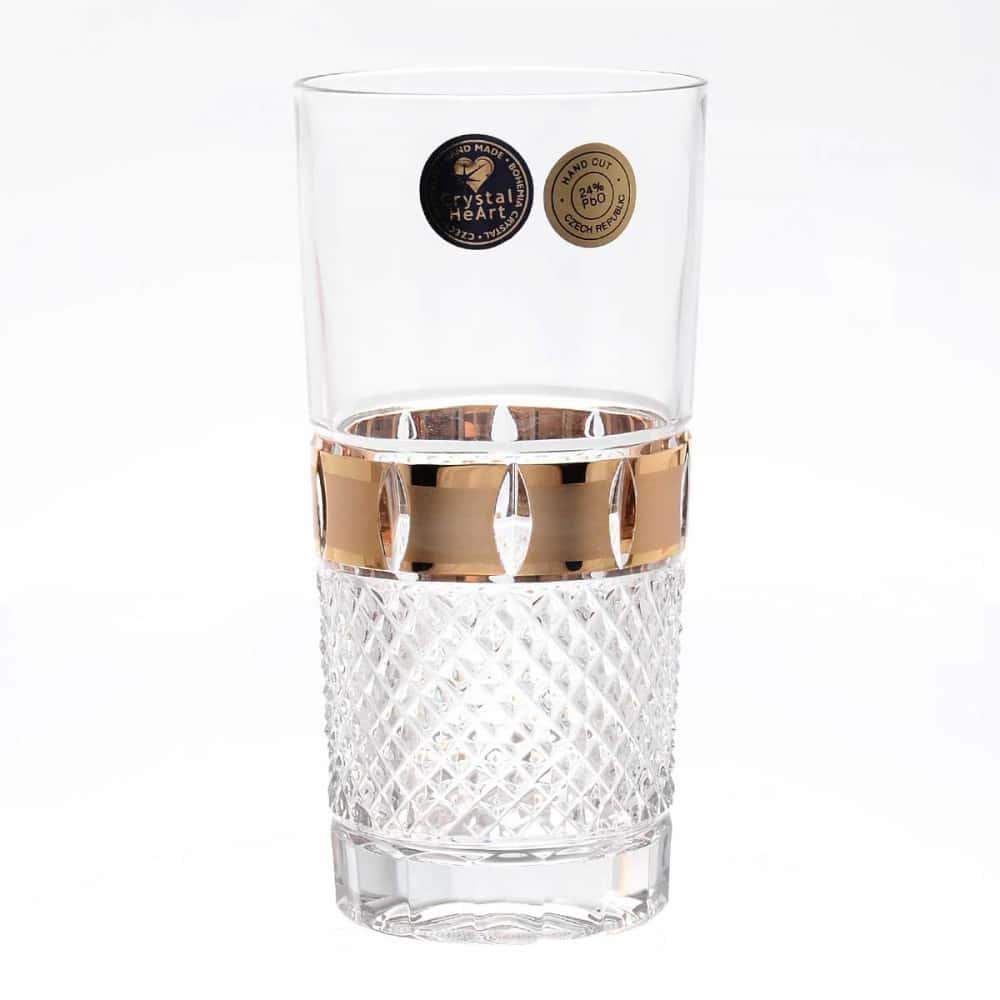Набор стаканов Crystal Heart 350мл 6 шт.