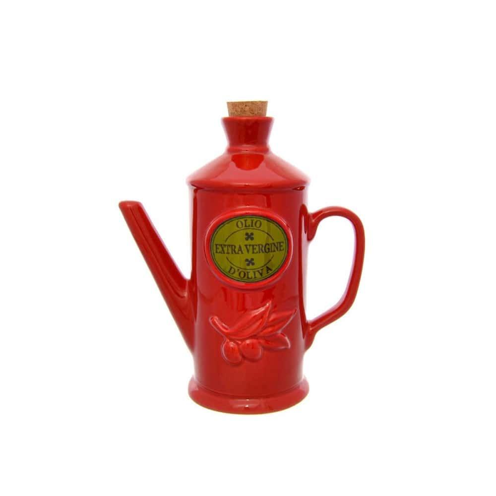 Бутылка для масла NUOVA CER 23см красная
