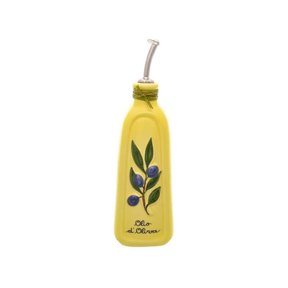 Бутылка для масла NUOVA CER 28,5см желт.