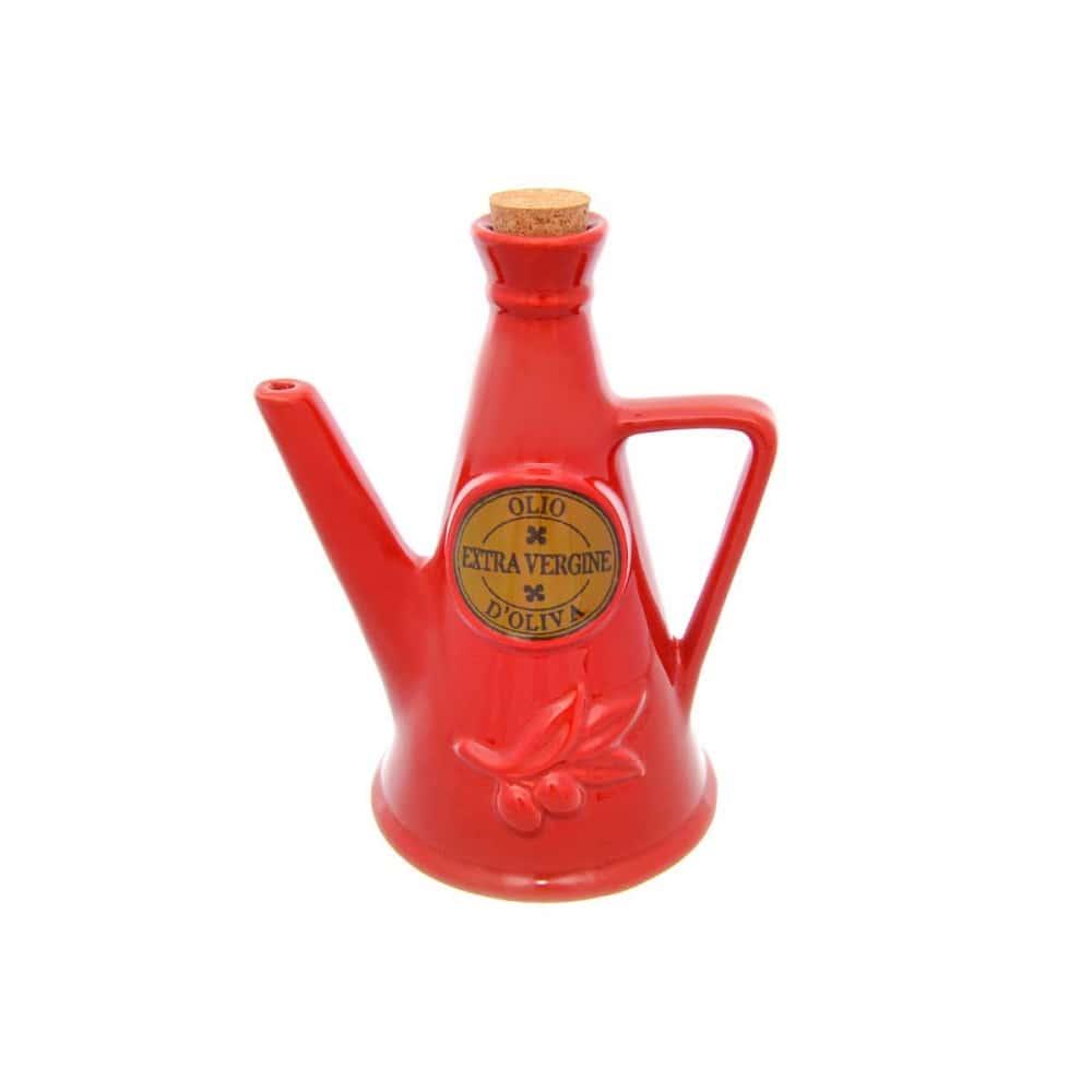 Емкость для масла NUOVA CER 23см красная