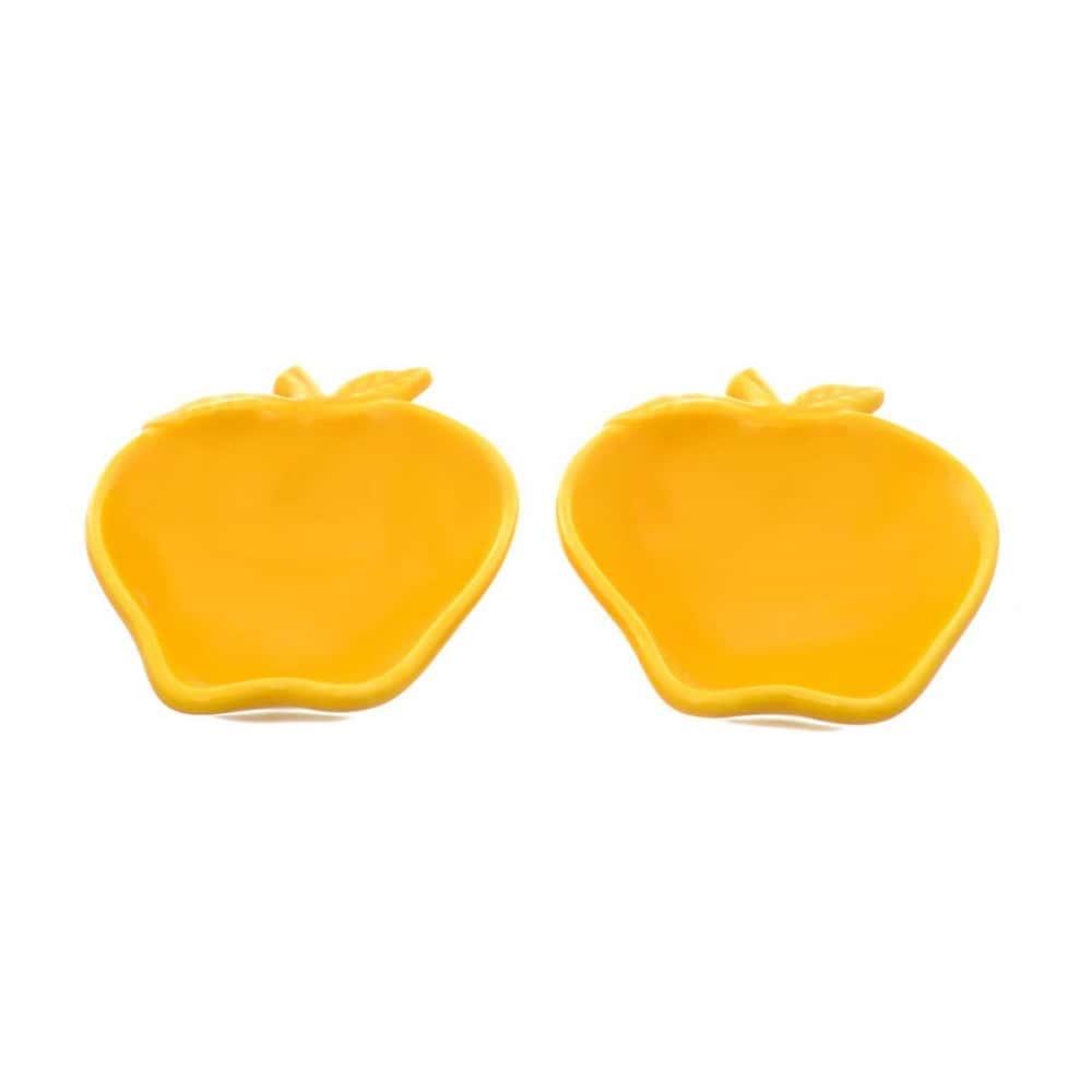 Набор салатников NUOVA CER 14см 2 предмета желтые
